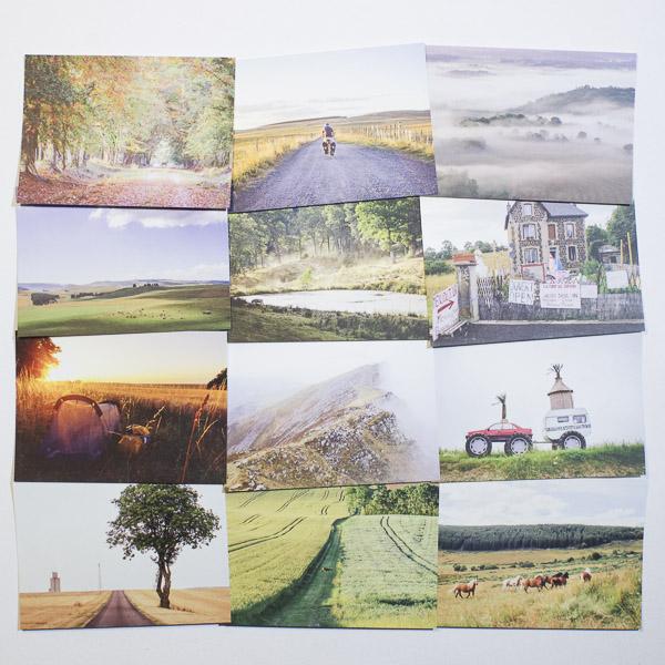 Diagonale du vide - Le coffret cadeau (Les 5 cartes postales)